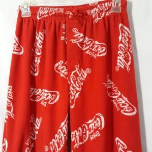 Mens coca cola sleep pants